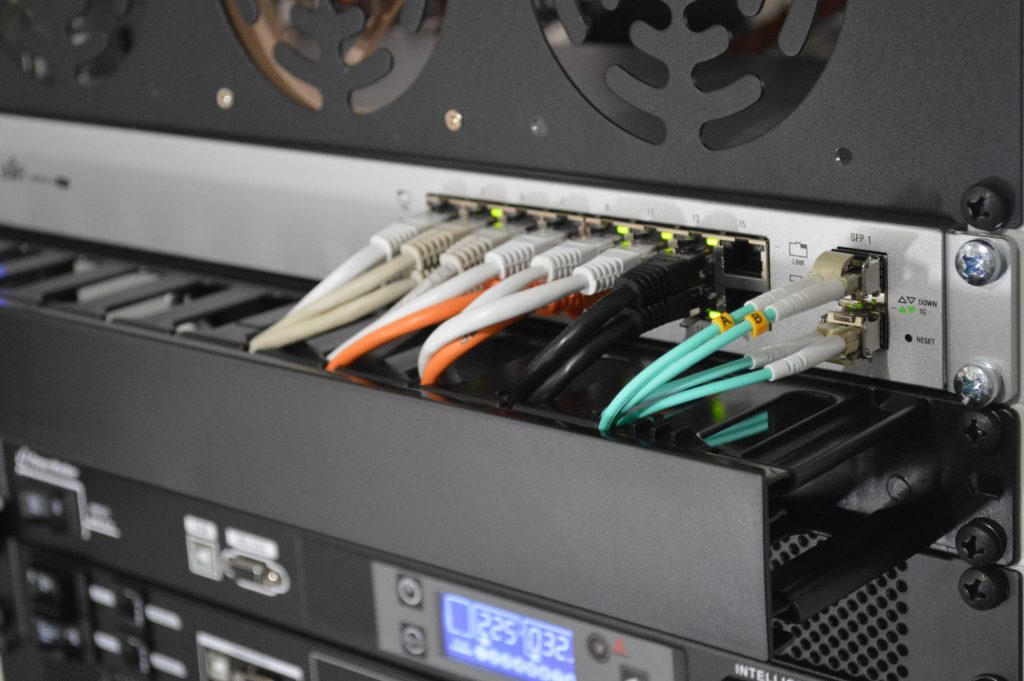 Network Cabeling in a rack